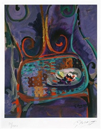 la chaise (the chair) by georges braque