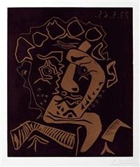 le danseur, tête d'histrion (the dancer, head of an actor) by pablo picasso