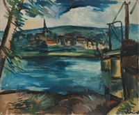 bougival by maurice de vlaminck
