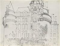 château de brissac by raoul dufy