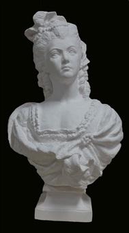 bust of marie antoinette by li hongbo
