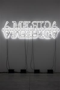 double america by glenn ligon