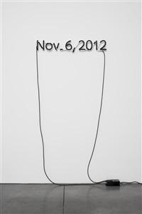one black day by glenn ligon