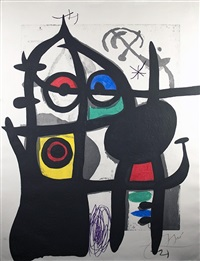 la captive by joan miró