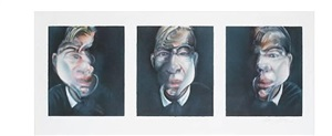 three studies for a self portrait by francis bacon