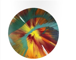 beautiful paper spin for situation gigi by damien hirst