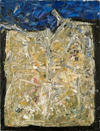 antibes by jean paul riopelle