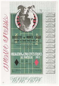 obligation monte carlo, monte carlo bond by marcel duchamp