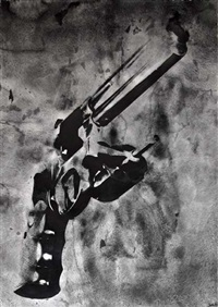 guns by robert longo