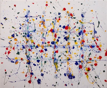 larsen art auction by sam francis