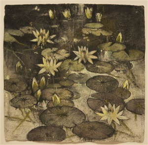 lily pads by john alexander