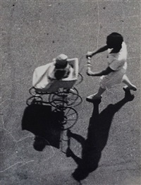 zhenshchina s kolyaskoi (woman with baby carriage) by alexander rodchenko