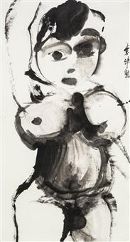 ink hermit by li jin