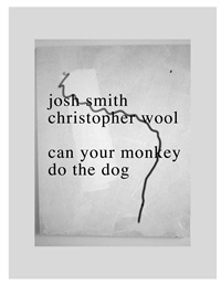can your monkey do the dog by christopher wool and josh smith