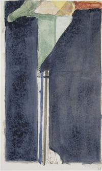 x by richard diebenkorn