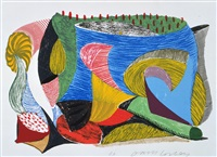 above and beyond by david hockney