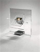 lampe 'satellite' by yonel lebovici