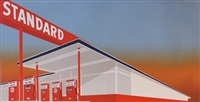 standard station by ed ruscha