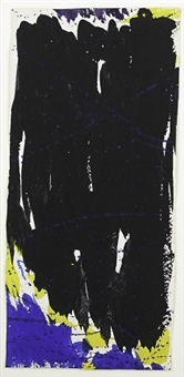 untitled (sf59-027) by sam francis