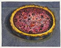 berry tarte by wayne thiebaud