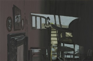 shadow and fireplace by richard walker