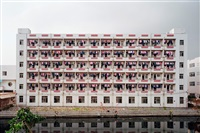 manufacturing # 4, factory worker dormitory, dongguan, guangdong province by edward burtynsky