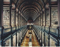 trinity college library dublin i by candida höfer