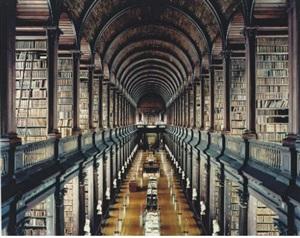 trinity college library dublin i by candida höfer
