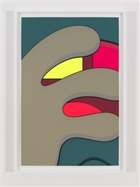 ups and downs #5 by kaws
