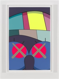 ups and downs #7 by kaws