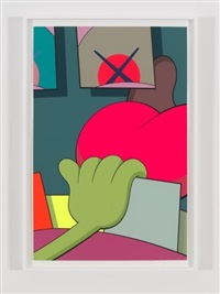 ups and downs #8 by kaws