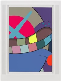 ups and downs #10 by kaws