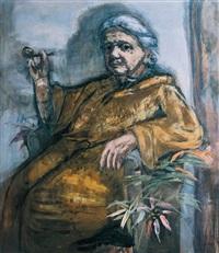 henriette von motesiczky by marie-louise von motesiczky