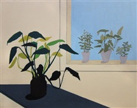 potted plants by marjorie virginia strider