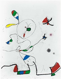 la chasse aux papillons (the hunting of butterflies) by joan miró