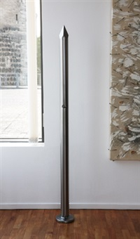 nagelskulptur by günther uecker