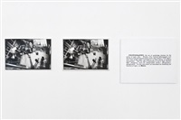 one and three photographs by joseph kosuth