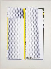 mirror #9 by roy lichtenstein