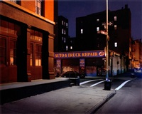 greenwich street, tribeca, new york by luca campigotto