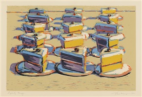 boston cremes by wayne thiebaud