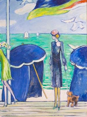 les tents bleu by jean-pierre cassigneul