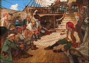a pirate's discussion by arthur david mccormick