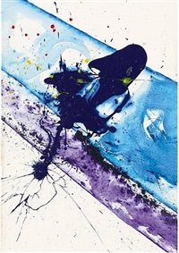 untitled (study no. i) by sam francis