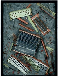 discorded accordion by arman
