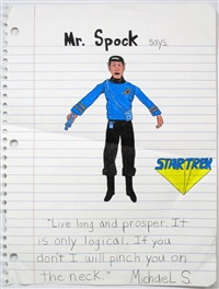 mr. spock says, by michael scoggins