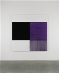 exposed painting dioxaine violet by callum innes