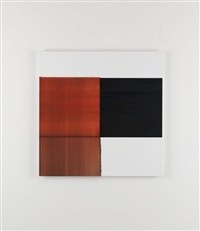 exposed painting red lake by callum innes