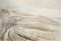 dorset landscape by paul nash
