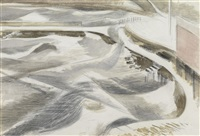 storm (swanage) by paul nash