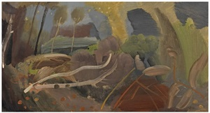 felled trees by ivon hitchens